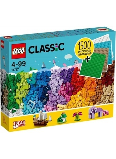 Lego Lego Classic 11717 Yaşım Şarçaları Ve Zeminler Renkli